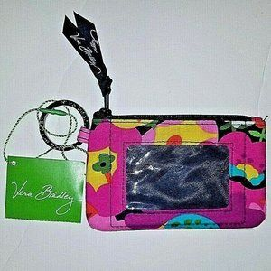 Vera Bradley Iconic Zip ID Case Va Va Bloom